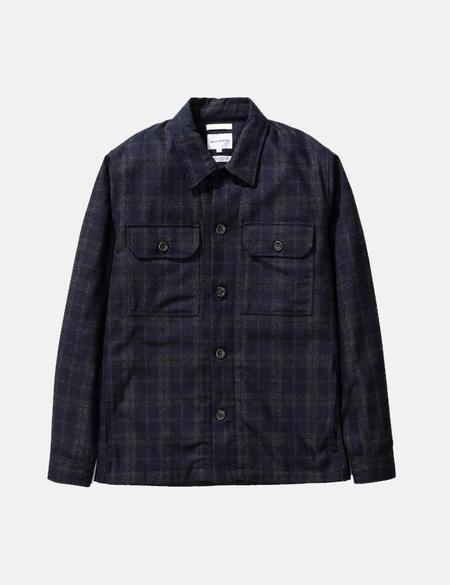 Norse Projects Kyle Wool Jacket - Dark Navy Blue