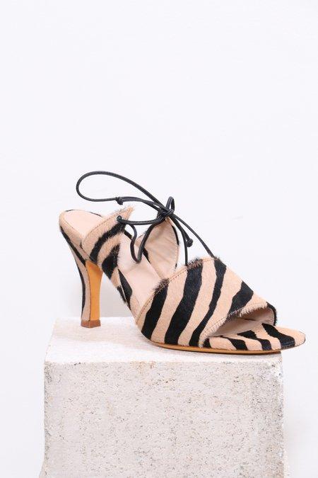Maryam Nassir Zadeh Lark Sandal - Zebra