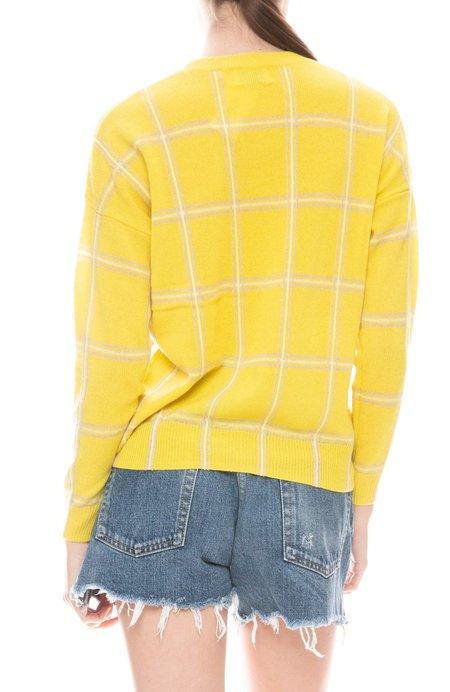 27 Miles Deb Plaid Sweater - Citrus