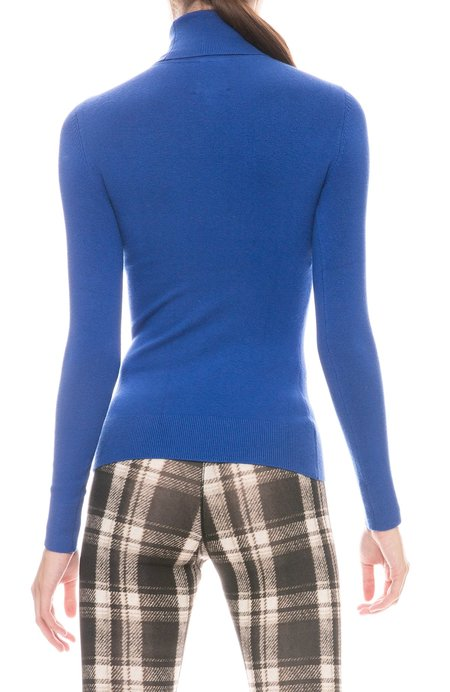 JOOSTRICOT Long Sleeve Turtleneck Top - Ultramarine