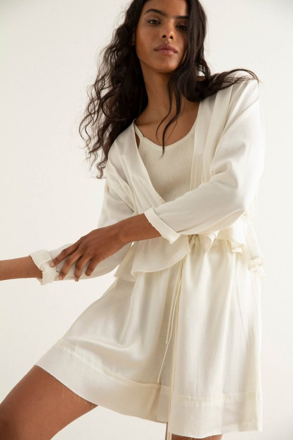 BEFORE MARCH Maia Top - Ivory