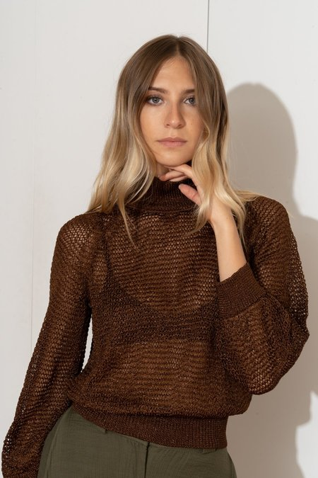 MILA ZOVKO JONI Sweater - Chocolate