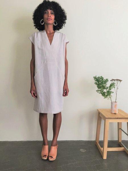 Eve Gravel Byblos Dress - Clay