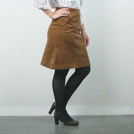 Allison Wonderland Crosby Skirt - Camel
