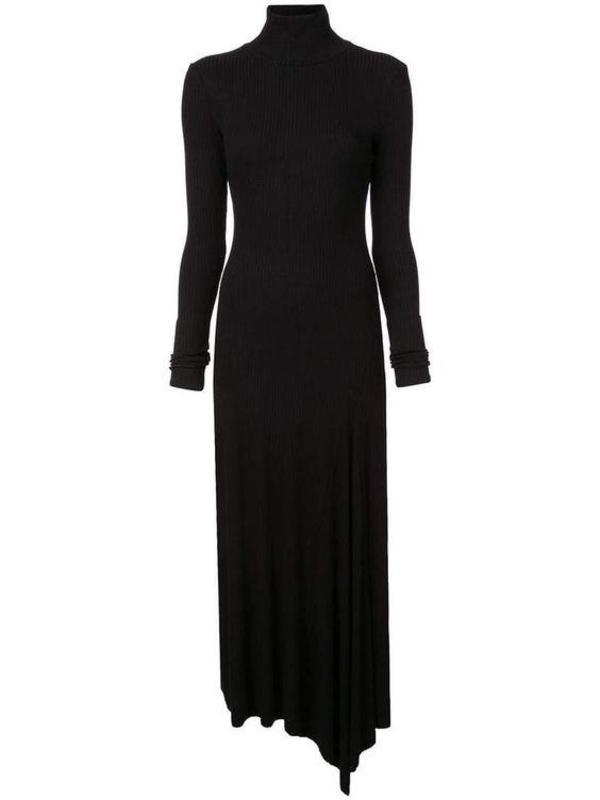 Kamperett Moor Turtleneck Dress - Black