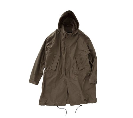Still By Hand M65 Detachable Lining Coat - Olive