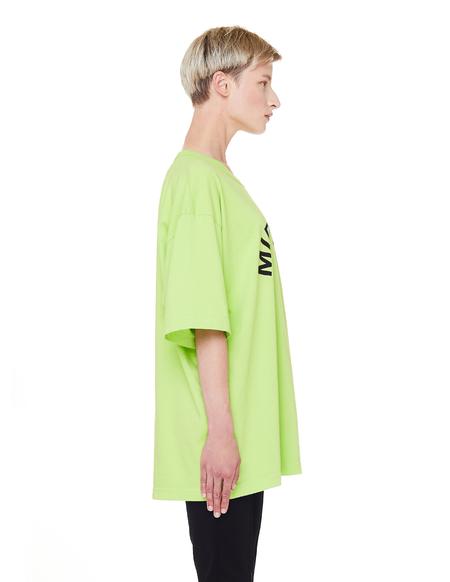 Midnight Studios Cotton Logo T-shirt -  Electric Green