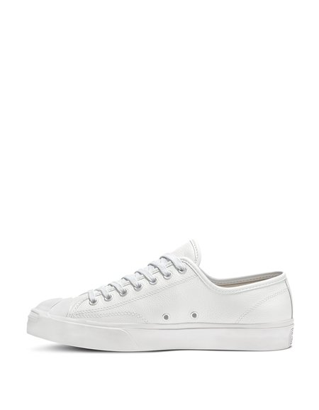 Converse Jack Purcell Foundational Leather - Low Top White