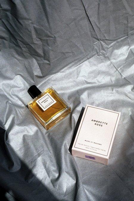 Musc et Madame Amberette Rose Perfume