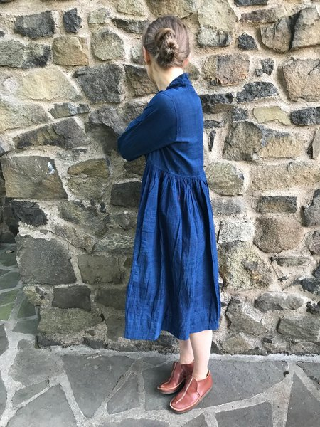 Injiri India Indigo Dress - Blue