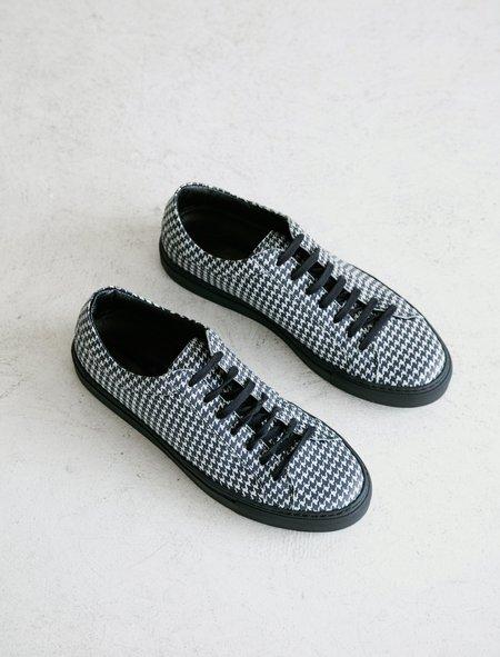 Erik Schedin Dogtooth Leather Sneaker