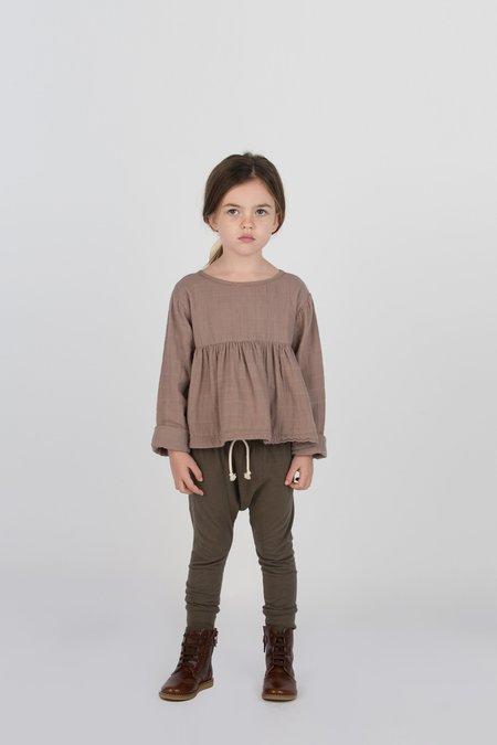 Kids Go Gently Nation Jersey Harem Pant - Moss