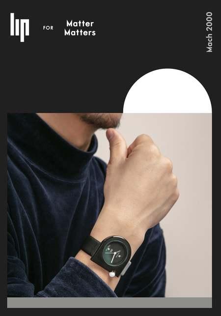 Unisex Matter Matters X Lip Watch - Mono