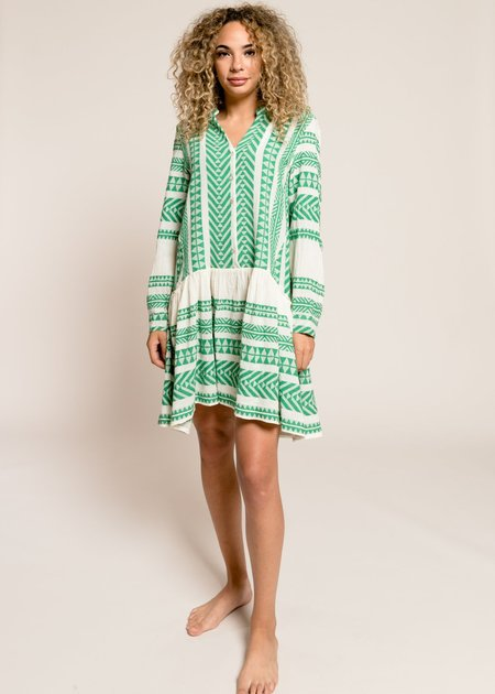 Devotion Delos Dress - Green