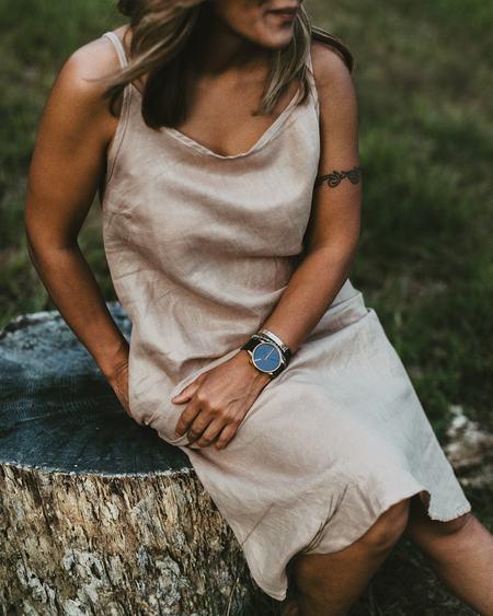 Conrado Jeanne Linen Slip Dress