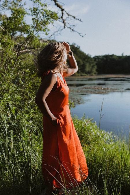 Conrado Wynn Jumpsuit - Orange