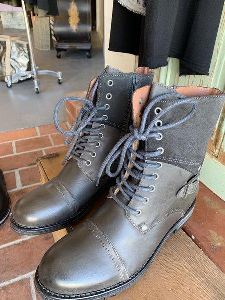 Eric Michael Juniper Combat Boots - dark gray