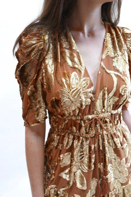 Ulla Johnson Loretta Dress - Rose Gold
