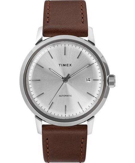 Timex Watch Marlin® Automatic 40mm Leather Strap Watch