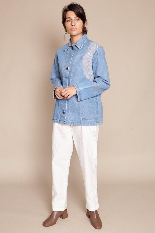 Caron callahan krasner denim jacket