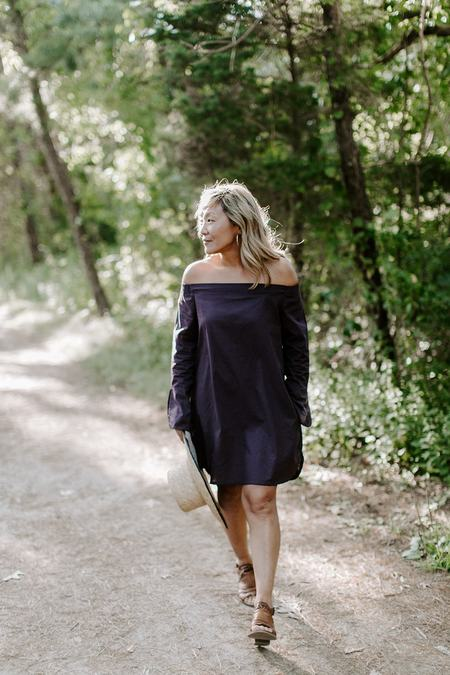 Conrado Vivian Dress - Merlot
