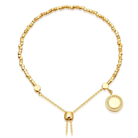 Astley Clarke Cosmos Kula Bracelet - 18k Yellow Gold