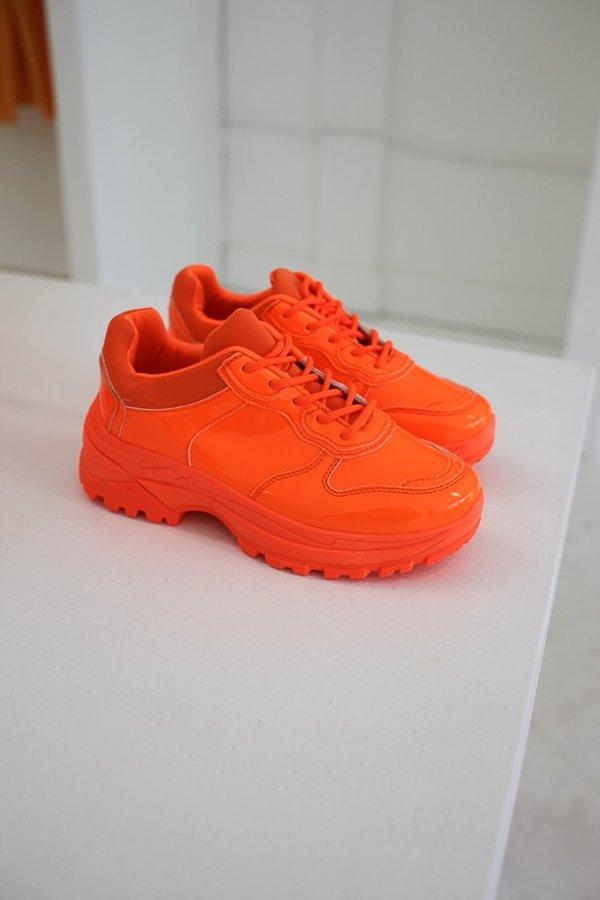Ashley Rowe Shoes - Neon Orange