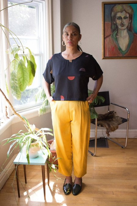 Amanda Moss Peggy Pants - Golden