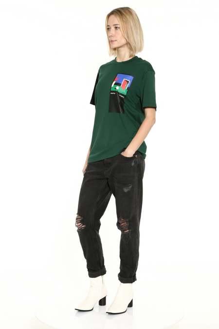 Unisex Matter Matters Come Across T-Shirt - Green/Black