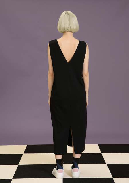 Matter Matters Graphic T-Shirt Dress - Black