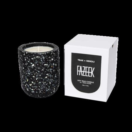 Fazeek Teak + Neroli Candle