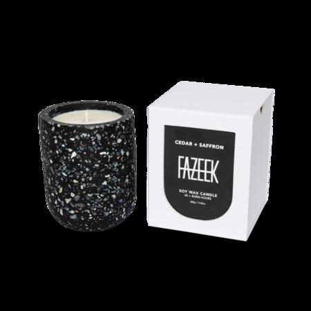 Fazeek Cedar + Saffron Candle
