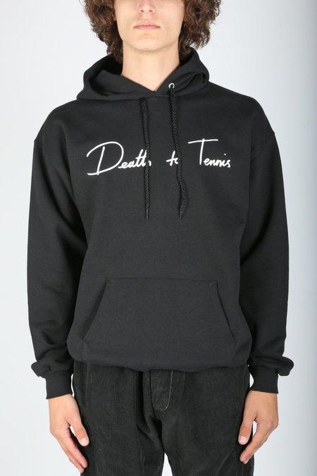 Death to Tennis Donny Hoodie - Black