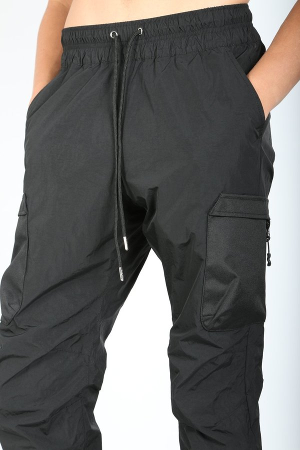 vivid and great in style amazing quality special for shoe John Elliott High Shrunk Nylon Cargo Pants