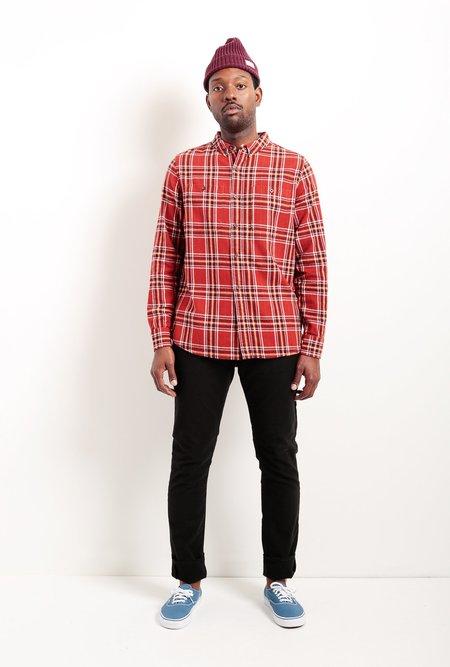 Banks Journal Vanish Long Sleeve Shirt - Rust
