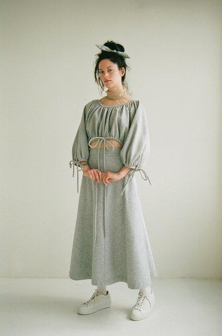 Eliza Faulkner Pia Sweat Skirt - gray