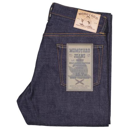 Momotaro Jeans High Tapered Fit Selvedge Denim Jeans