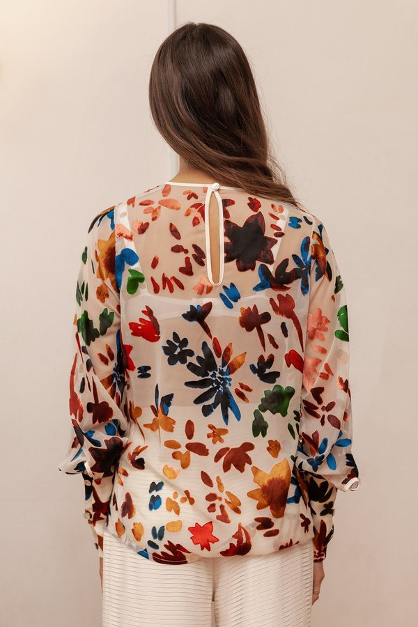 BEFORE MARCH Bonnie blouse - multi