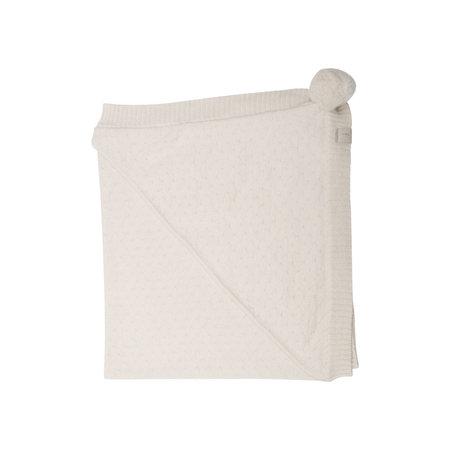 Kids New Collection Alpaca/Cotton  Baby Blanket - Beige