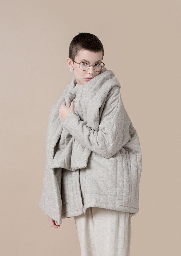 Vestige Story Modus Coat - Greige