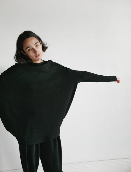 Dusan Circle Jersey  Tunic - Black