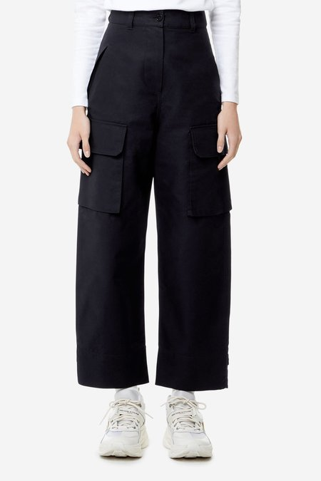 Kitsune Army Pants - Dark Navy