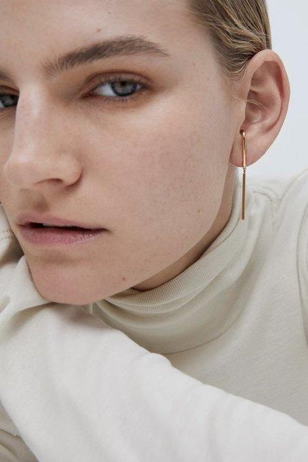 Jenny Bird Serafina Earrings - Gold