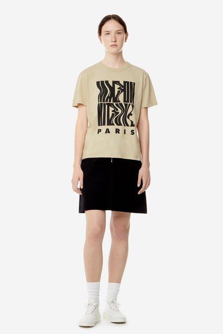Kitsune T-Shirt Wavy MK - Beige