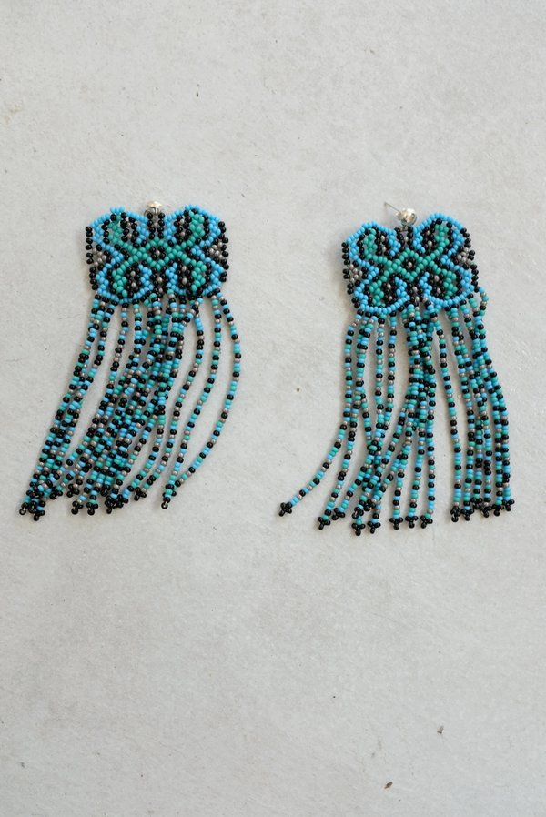 Mozh Mozh Shipibo Earrings - Sea