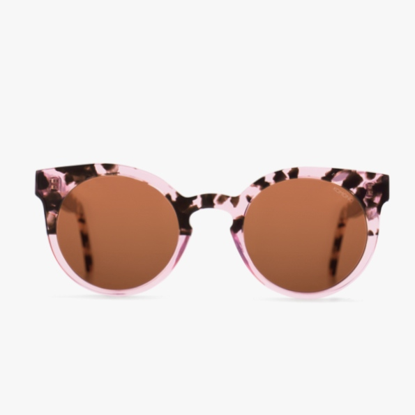 Komono Lulu Rose Dust Sunglasses