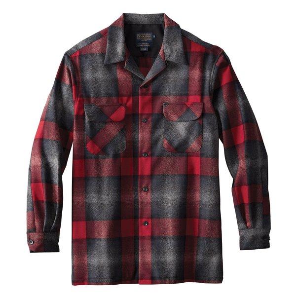 Pendleton Board Shirt - Black/Grey Mix Plaid
