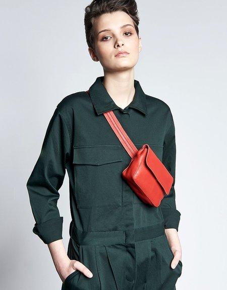 nine to five hip bag - red