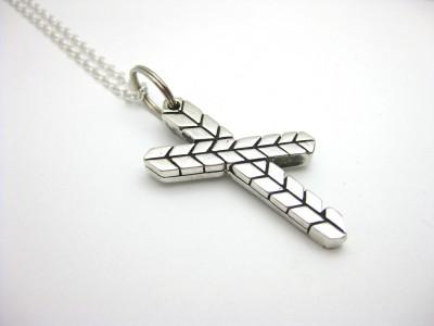 Anita Sikma Design 3D Cross Pendant