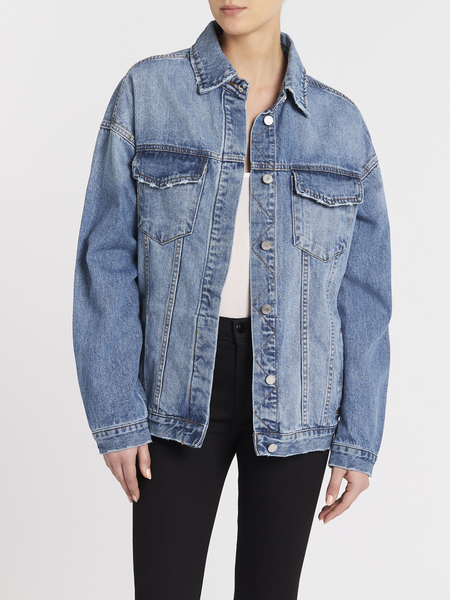 Camilla and Marc Ruth Jacket - Classic Mid Blue